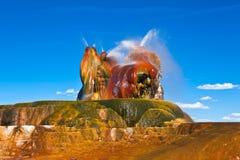 Les Etats-Unis - geyser photographie stock