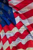 Les Etats-Unis l'Amérique droit constitutionnel 4 juillet Photos stock