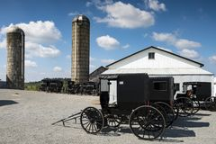 LES Etats-Unis - L'Ohio - Amish Photo stock