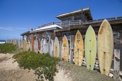 LES Etats-Unis - La Californie - San Diego - pilier impérial de plage image stock