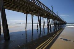 LES Etats-Unis - La Californie - San Diego - pilier impérial de plage photographie stock libre de droits