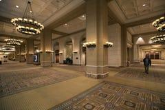 LES Etats-Unis - Las Vegas - l'hôtel de palais de caesars images libres de droits