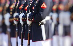 Les Etats-Unis Marine Corps Photo stock
