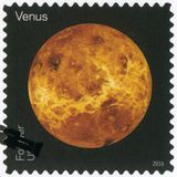 Les ETATS-UNIS - 2016 : montre le Vénus, vues de série de nos planètes Photographie stock