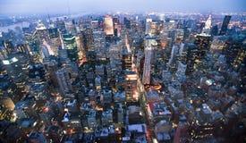 Les Etats-Unis, New York d'Empire State Building image stock