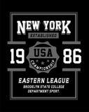 Les Etats-Unis New York, image de vecteur Photo libre de droits