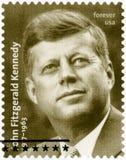 Les ETATS-UNIS - 2017 : portrait d'expositions de John Fitzgerald Kennedy 1917-1963, trente-cinquième Président des États-Unis images stock