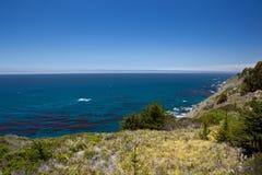 LES Etats-Unis - Route une de Côte Pacifique Photos libres de droits