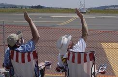 Les Etats-Unis 2014 skyfest Photos libres de droits