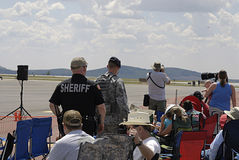 Les Etats-Unis 2014 skyfest Photographie stock libre de droits