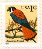 Les Etats-Unis un timbre-poste de cent Photographie stock libre de droits
