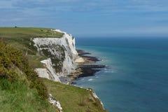 Les falaises blanches de Douvres photos libres de droits