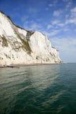 les falaises blanches de Douvres Photos stock