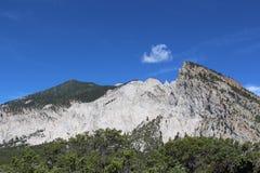 Falaises de craie du Colorado Images stock
