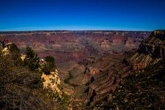 Les falaises de Grand Canyon Photos stock