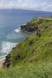 les falaises vertes trempent photos libres de droits