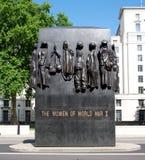Les femmes de la deuxième guerre mondiale Photo libre de droits