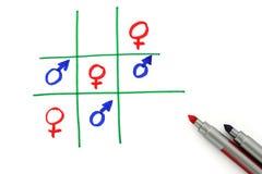 Les femmes sont de Venus et d'hommes de Mars Image libre de droits
