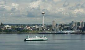 Les ferrys-boat de Seattle Washington photographie stock libre de droits