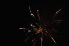 Les feux d'artifice Image stock