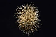 Les feux d'artifice montrent la nuit 2, Rottingdean, East Sussex, R-U du contrebandier photo libre de droits