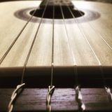 Les ficelles de musical image libre de droits