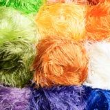 Les fils de couleur Image stock