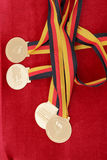Les finales des hommes. Cuvette européenne Allemagne 2011 d'hockey Photo libre de droits