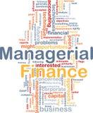 Les finances gestionnaires sont concept de fond d'os Photo libre de droits