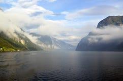 Les fjords norvégiens photographie stock