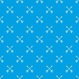 Les flèches modèlent le bleu sans couture Images stock