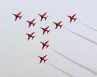 Les flèches rouges Photographie stock libre de droits