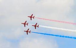 Les flèches rouges Photographie stock