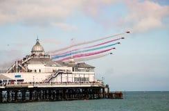 Les flèches rouges, Eastbourne Images stock