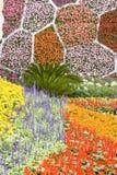 Les fleurs décorent Images libres de droits