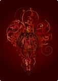 Les fleurs de rouge Image stock