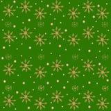 Les flocons de neige modèlent l'aquarelle de Noël de nouvelle année illustration libre de droits