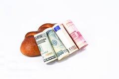 Les fondations globales de l'économie Image stock