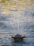 Les fontaines chez Palais Longchamp, Marseille photographie stock