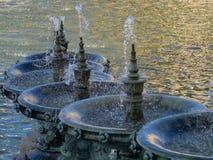 Les fontaines chez Palais Longchamp, Marseille photos libres de droits