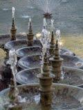 Les fontaines chez Palais Longchamp, Marseille images libres de droits