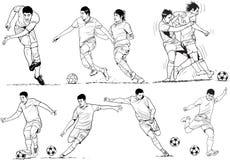 Les football Images libres de droits