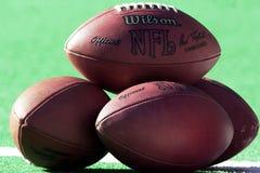 Les football de NFL photo libre de droits