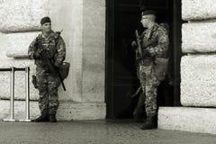 Les forces de sécurité en Italie Images stock