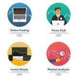 Les forex lancent sur le marché, commerçant Club de forex Commerce en ligne Technologies dans les affaires et le commerce Intelli illustration libre de droits