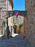 Les forma arcos sur Argens Francia Fotografía de archivo libre de regalías