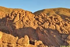 Les formations de roche étranges dans Dades se gorgent, le Maroc photographie stock libre de droits