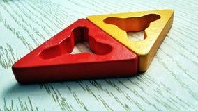 Les formes géométriques Photos stock