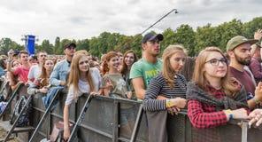 Les fréquences perdues exécute vivant au festival de week-end d'atlas Kiev, Ukraine photo libre de droits