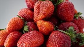 Les fraises fraîches tournent clips vidéos